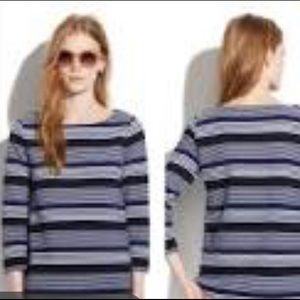 Madewell Sz Small Navy White Stripe
